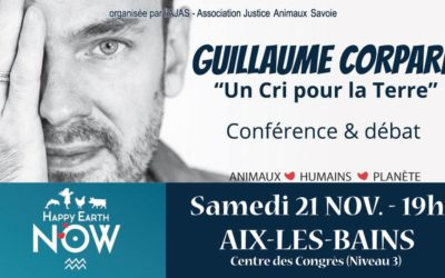 Conférence-débat «Un Cri pour la Terre» avec Guillaume Corpard